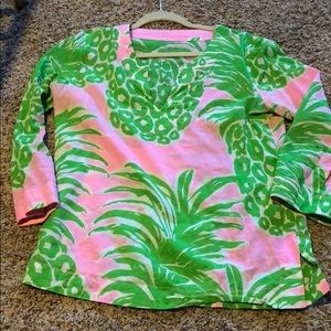 Lilly Pulitzer Medium Cotton Blouse